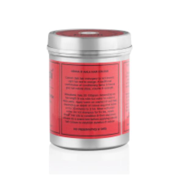 KHA-237 Khadi Bio - Polvere Henna e Amla colore capelli rosso 2