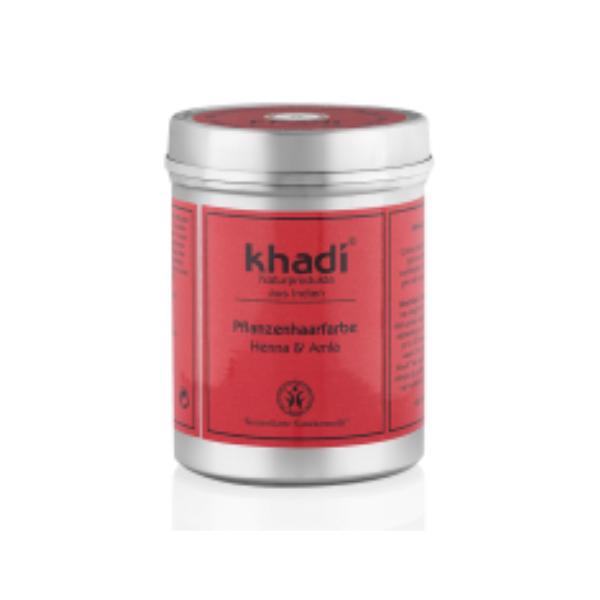 KHA-237 Khadi Bio - Polvere Henna e Amla colore capelli rosso