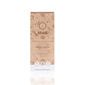 KHA-607 Khadi - Tinta Naturale Per Capelli Illuminante Incolore (Senna-Cassia)