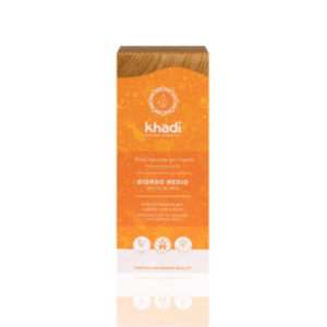 KHA-650 Khadi - Tinta Naturale Per Capelli Biondo Medio