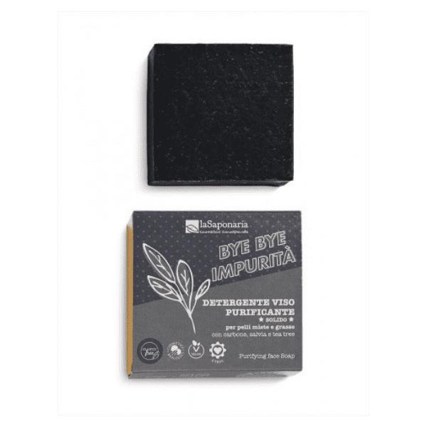 SAP-978 La Saponaria - Detergente Viso Purificante Solido